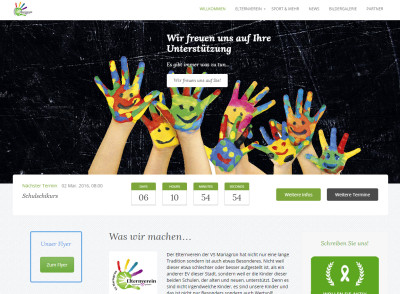 Website Elternverein