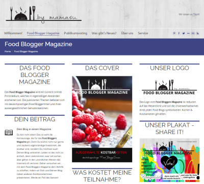 Food Blogger Magazine